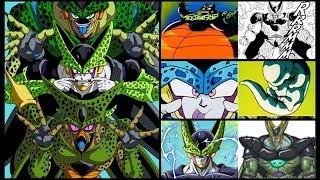 All Forms and Transformations of Cell ( DBZ, DBS, DBGT, DBH) | Evolution of Cell with Explanations