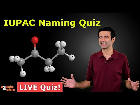 IUPAC Naming Of Organic Compounds