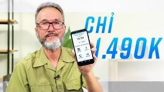 Smartphone VIỆT ĐẦU TIÊN cho người có tuổi