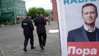 Куб Навального в Барнауле #10