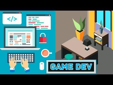 Как СОЗДАТЬ свою ИГРУ? Очень просто - играть в Become a Game Developer!