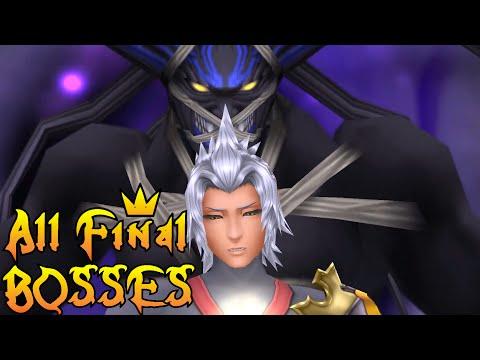 Kingdom Hearts Series - All Final Boss Fights (2002-2016)