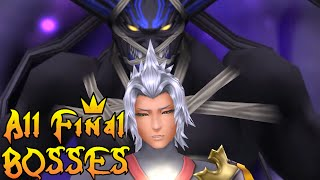 Repeat youtube video Kingdom Hearts - All Final Boss Fights (2002-2016)