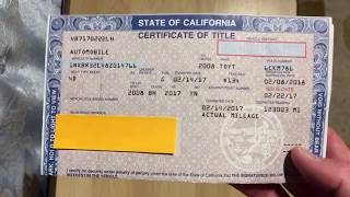 How to Fill Out a Pink Slip When Buying or Selling a Car
