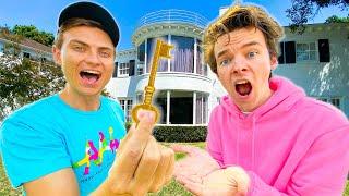 CARTER SHARER GAVE ME THE TEAM RAR HOUSE!!