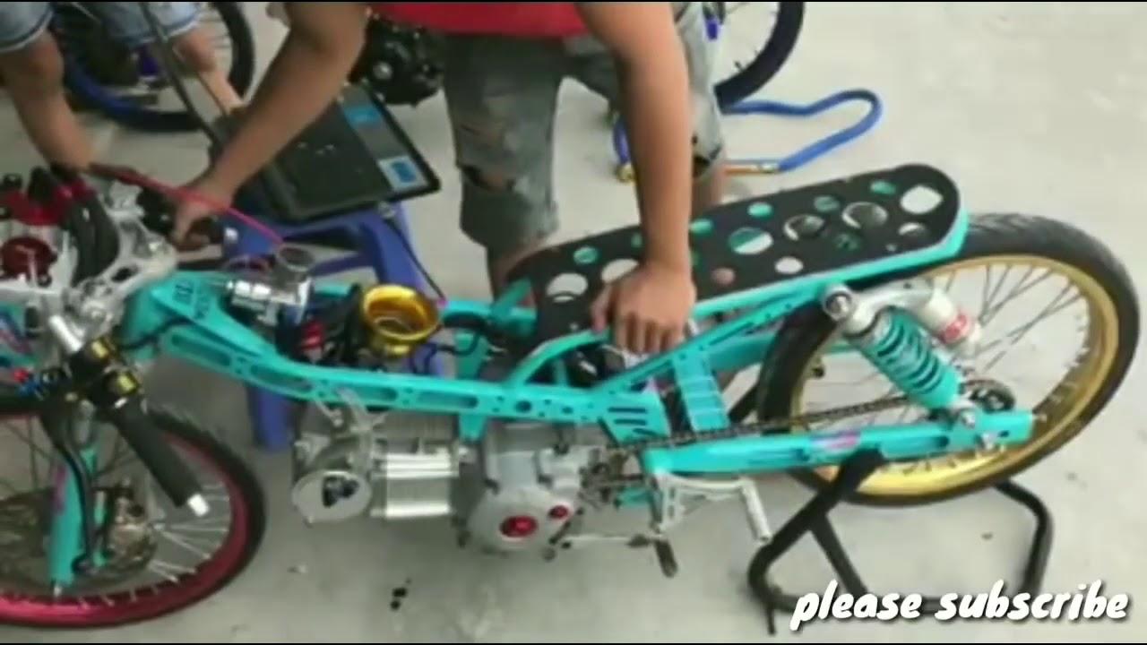 Jupiter Z 500cc Turbo Drag Bike Thailand Youtube