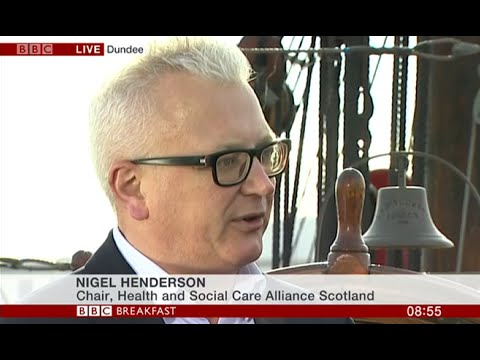 BBC Breakfast | Devolution of health and social care (17/04/2015, Dundee)