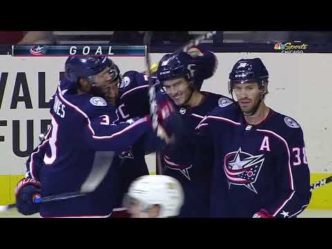 Chicago Blackhawks vs Columbus Blue Jackets | NHL | SEP-18-2018 | 19:00 EST