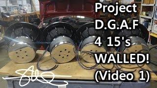 BIG BASS & BUST - '91 Toyota Tercel D.G.A.F Project - 4 15