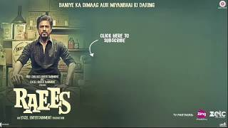 Zaalim A Full Song And Video Raees Movies Song