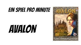 Ein Spiel pro Minute: Avalon