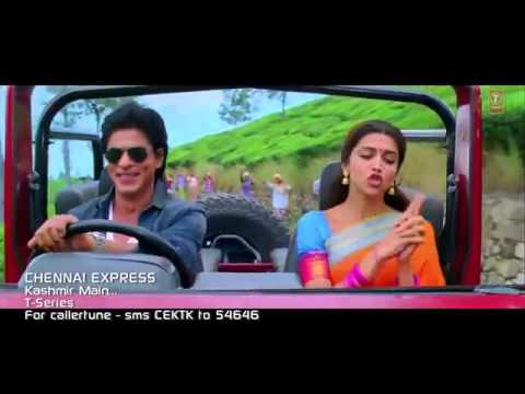 Kashmir Main Tu Kanyakumari  Full Song HD ~  Chennai Express  Shahrukh Khan and deepeka