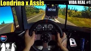 Euro Truck Simulator 2 - Vida Real #1 - Scania - Mapa EAA BR - Volante G27