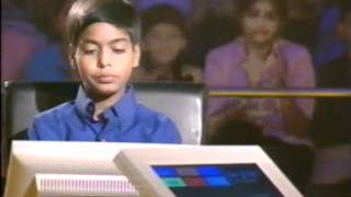 Kbc junior episode-32 with aniket ranjan