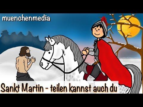 Sankt Martin (wird er genannt) - Kinderlieder deutsch | Kinderlieder zum Mitsingen | Laternenlied