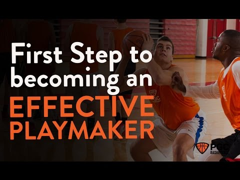 1st Step to becoming an Effective Playmaker | Game Time | PGC Basketball