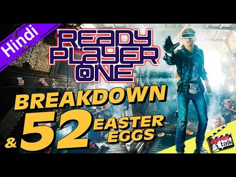 READY PLAYER ONE Trailer Breakdown & So Many Easter Eggs [Explained In Hindi]