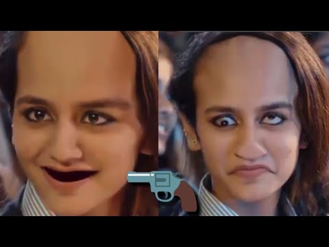 Priya Prakash New Look Like Funny Face Whatsapp Status