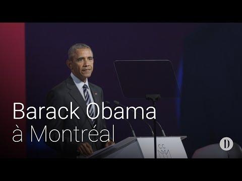Barack Obama à Montréal