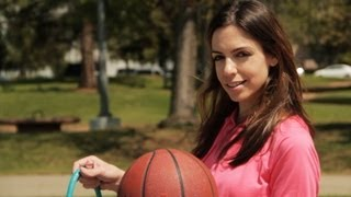 Basketball trick shots-  the girl version!