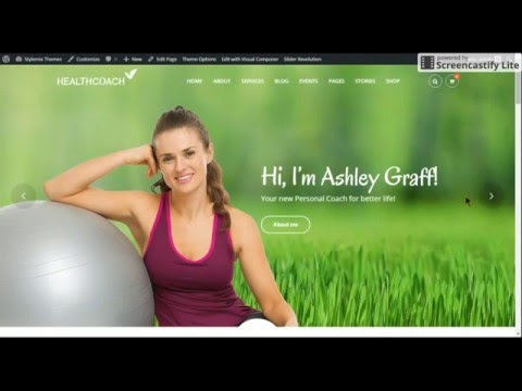 Health Coach - WP Theme for Holistic Life Coaching - Installation Tutorial thumbnail