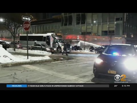 Police Find Party Bus Packed With People, Weapons In Brooklyn