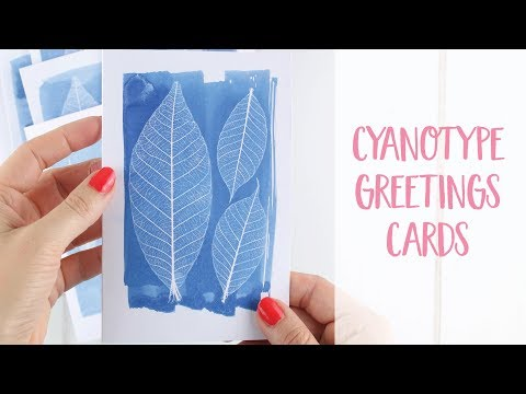 Cyanotype Printing Alternative Photography How to DIY Tutorial | Craftiosity Craft Subscription Box