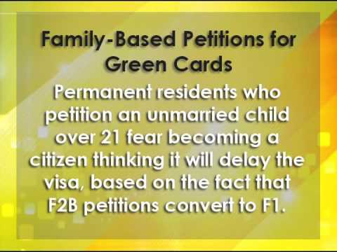Family-Based Petitions for Green Cards in the U.S.
