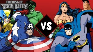 Marvel VS DC Comics | Desk of DEATH BATTLE