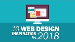 10 Awesome Web Design Inspiration 2018