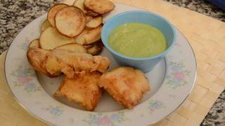 Healthy Organic Fish And Chip