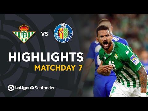 Betis Getafe Goals And Highlights