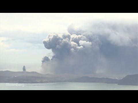 Taal Volcano In