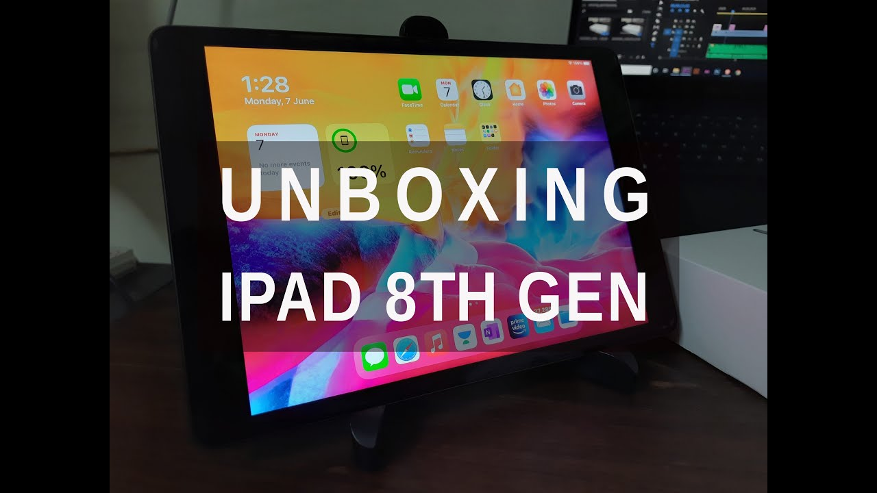 Download Ipad 8th Generation(2020) Unboxing in 2021 | Budget Ipad