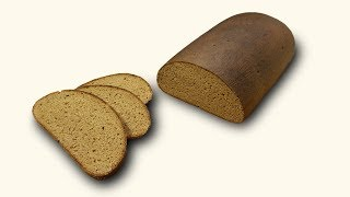 Технология заварного хлеба - 3 (цельнозерновой)