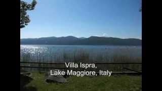 Holiday Villa Nassi - Ispra, Lago Maggiore, Italy