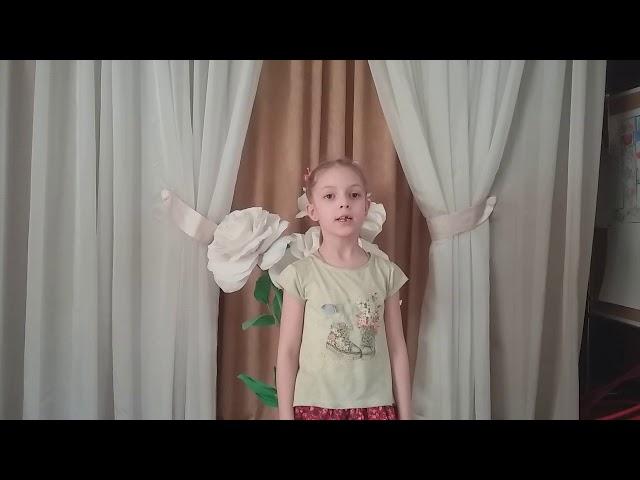 Изображение предпросмотра прочтения – АнастасияТимченко читает произведение «Травка зеленеет» А.Н.Плещеева