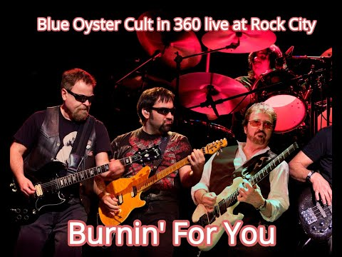 Blue Oyster Cult Burnin' For You. 360 video Rock City 2017