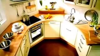 Маленькая кухня хрущевка, дизайн интерьера.(Варианты дизайна для кухонь разного размера. Собираетесь изменить дизайн интерьера квартиры или делать..., 2014-11-06T11:45:20.000Z)