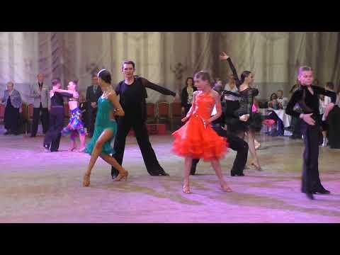 Финал бальные танцы латина Юниоры-2 до D класса под Loca Loca Loca Toca Toca Toca