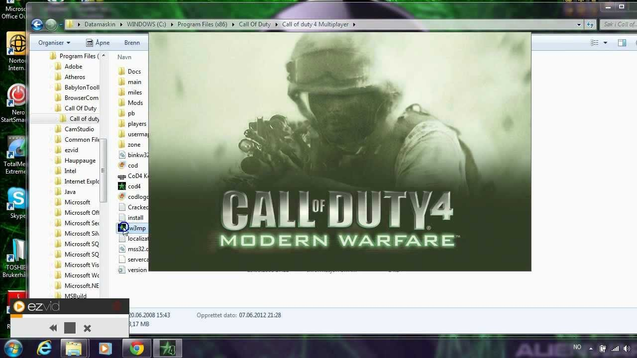 cod4 multiplayer key code not valid