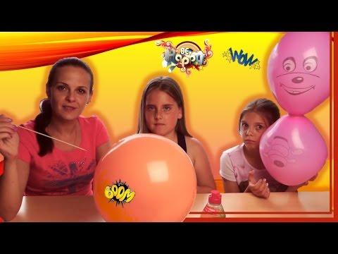 ЧТО НЕ ВОШЛО В видео ЧЕЛЛЕНДЖ БУМ БАЛУН С ВОЗДУШНЫМИ ШАРИКАМИ детский канал Радужки обзор игрушек