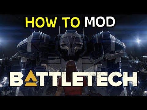 How To Mod Battletech 2018