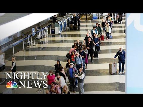 TSA Rolls Out New Pat-Down System   NBC Nightly News
