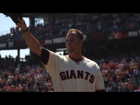Ryan Vogelsong returns to AT&T Mound, receives huge standing ovation