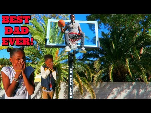 Download Youtube: SURPRISED MY KIDS WITH A NBA BASKETBALL COURT