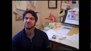 In the Studio: David Ezra Stein on Interrupting Chicken