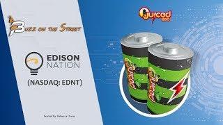 """Buzz on the Street"" Show: Edison Nation, Inc. (NASDAQ: EDNT) Partnership with Juiced2Go"
