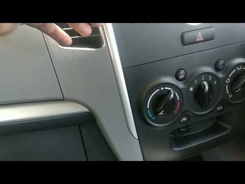 HOW TO CLEAN AC FILTER CABIN AIR FILTER MARUTI SUZUKI WAGONR K SERIES