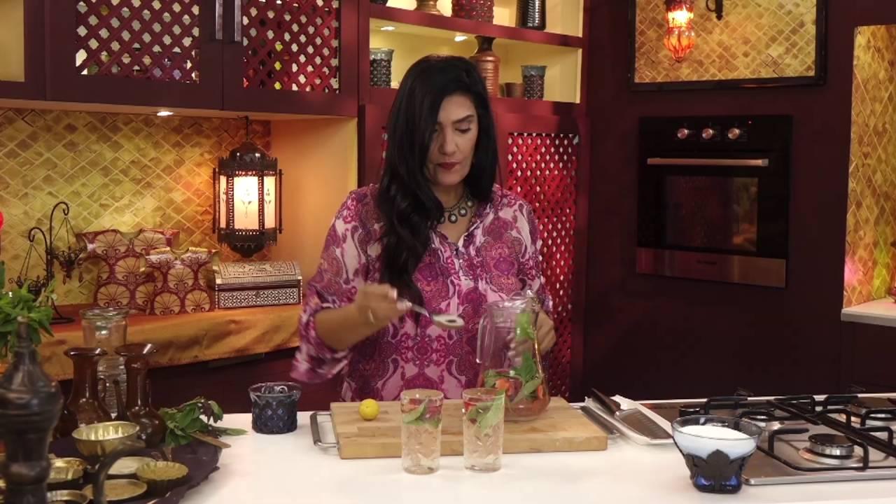 فطير و عصير - طريقة تحضير فطاير الكراميل بعين الجمل مع عصير فراوله بالمياه الغازيه - الجزء الثاني